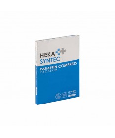 HEKA pres parafine kompres 10 x 10 cm steriel