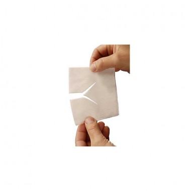 HEKA soft non-woven drainkompres 5 x 5 cm steriel - 4 lagen los