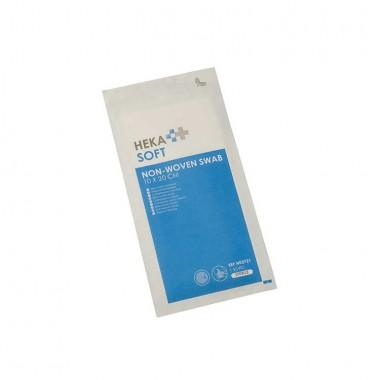 HEKA soft non-woven kompres 10 x 20 cm steriel 4 laags