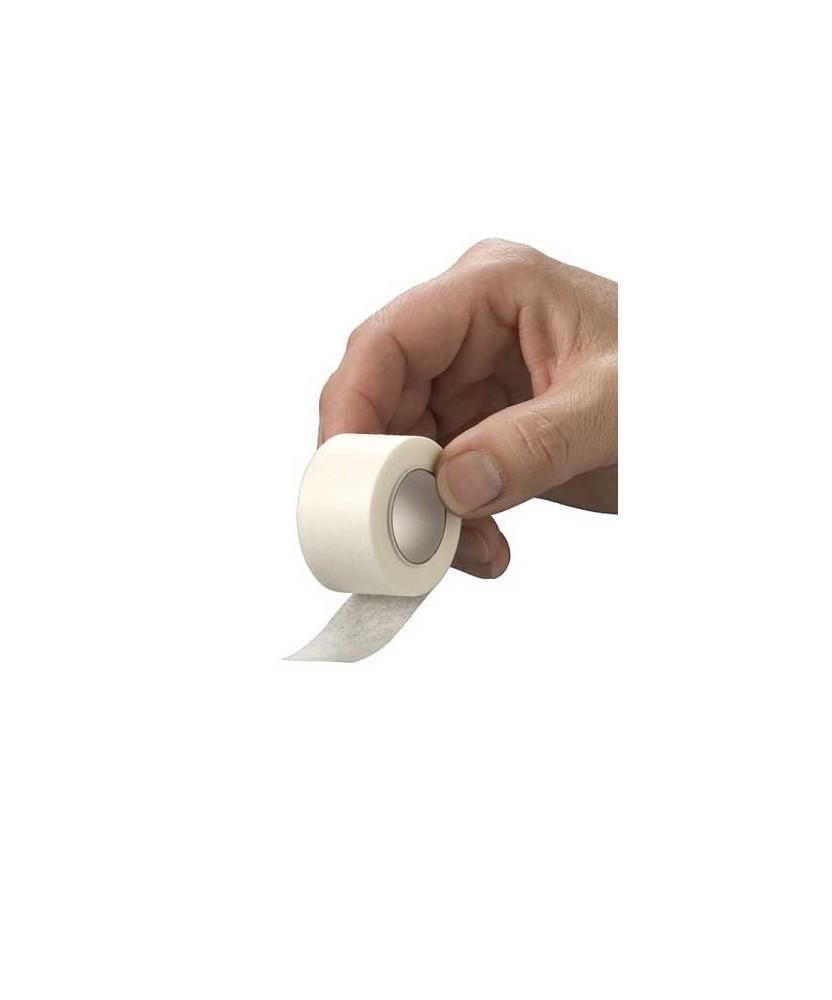 HEKA por non-woven hechtpleister ring 5 m x 1,25 cm niet steriel - los