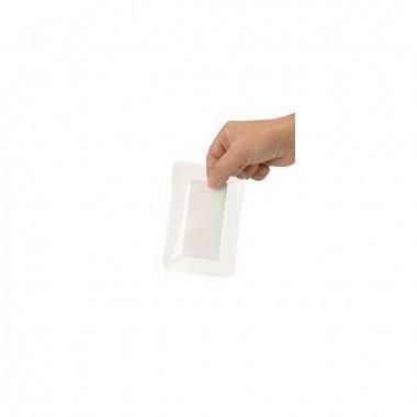 HEKA plast border transparant 5 x 7 cm steriel - los