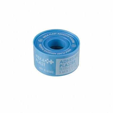 HEKA plast hechtpleister HACCP textiel 5 m x 2,5 cm 1