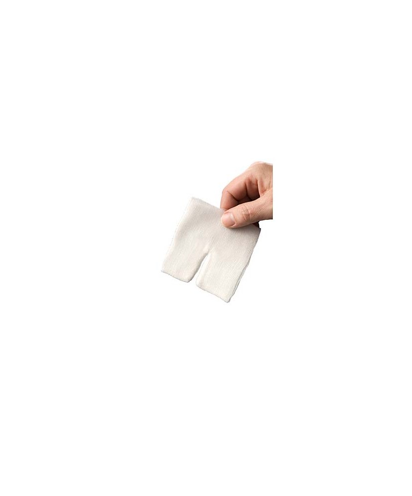 HEKA pres hydrofiel drainkompres 10 x 10 cm steriel