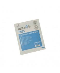 HEKA pres hydrofiel gaaskompres 5 x 5 cm steriel - 12 lagen - verpakking
